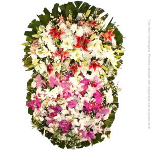 Coroa de Flores Magnífica