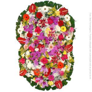 Coroa de Flores Prime Colorida